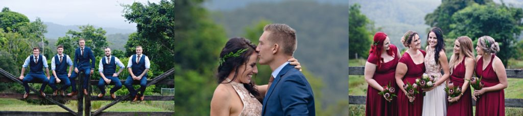 sunshine coast wedding photograhy shellbells maleny