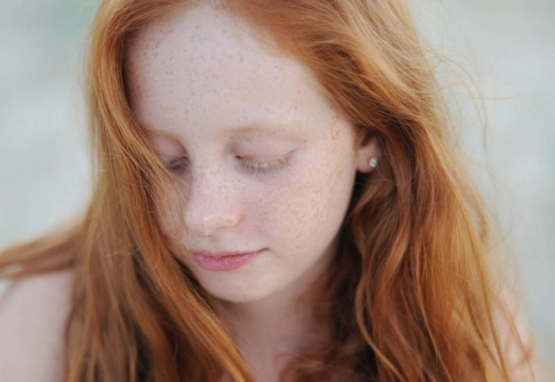 family portrait sunshine coast redhair freckles