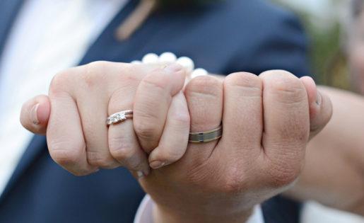 shellbells wedding photography sunshine coast wedding ring